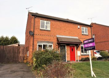 Thumbnail 2 bed semi-detached house for sale in Harebell Gardens, Bingham