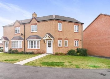 Thumbnail 3 bed semi-detached house for sale in Cornflower Drive, Evesham, Worcestershire, .