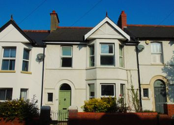 Thumbnail 3 bed terraced house for sale in Cornerswell Road, Penarth