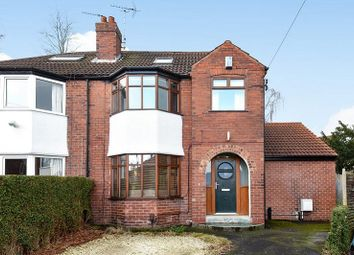 Thumbnail 5 bed semi-detached house for sale in Gledhow Park View, Chapel Allerton, Leeds