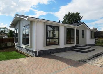 Thumbnail 2 bed mobile/park home for sale in The Park, Langham, Oakham, Leicestershire