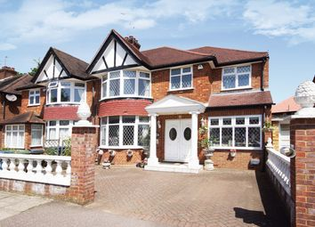 Thumbnail 4 bed semi-detached house for sale in George V Avenue, Pinner