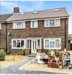 Thumbnail 1 bed semi-detached house to rent in Elsinore Avenue, Stanwell, Staines