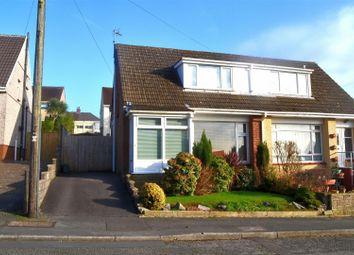 Thumbnail 2 bedroom semi-detached house for sale in Ash Grove, Killay, Swansea