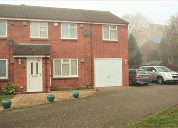 Thumbnail 4 bed semi-detached house for sale in Pearl Gardens, Slough