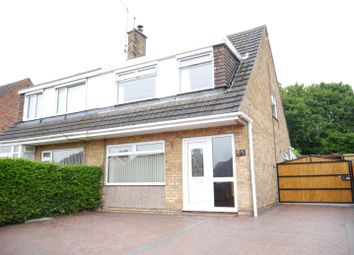 Thumbnail 3 bed semi-detached house to rent in Wyndale Drive, Kirk Hallam, Ilkeston