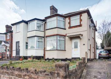 Thumbnail 3 bed semi-detached house for sale in Ermington Crescent, Birmingham