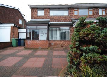 Thumbnail 3 bed semi-detached house to rent in Bispham Drive, Ashton-In-Makerfield, Wigan