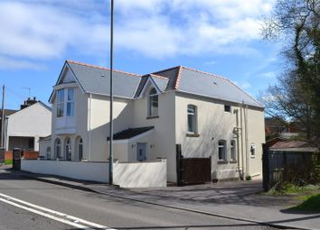 Thumbnail 4 bed detached house for sale in Gower Road, Killay, Swansea