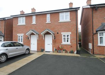 Thumbnail 2 bed semi-detached house to rent in Meole Village, Shrewsbury