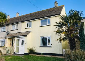 Thumbnail 3 bedroom end terrace house to rent in Carvossa Estate, Crowlas, Penzance