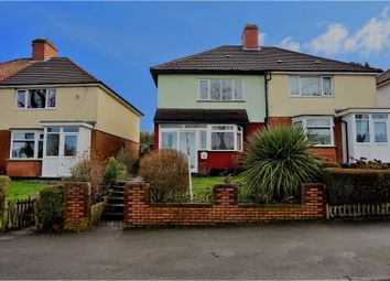 Thumbnail 3 bed semi-detached house for sale in Cleeve Road, Birmingham