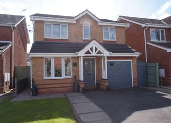 Thumbnail 4 bed detached house for sale in Washford Road, Hilton, Derby