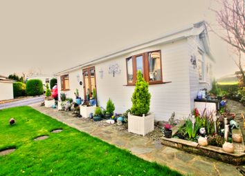 Thumbnail 2 bed bungalow for sale in Riverside Chalet Park, Occupation Lane, Poulton-Le-Fylde