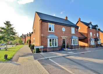 Thumbnail 4 bed detached house for sale in Armitage Drive, Rothley, Leicester