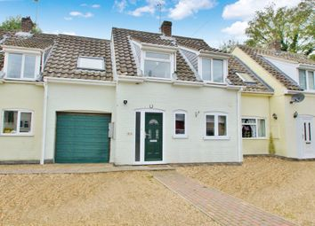 Thumbnail 3 bed terraced house for sale in Manor Close, Buxton, Norwich