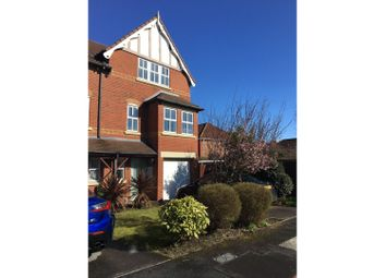 Thumbnail 4 bed town house to rent in Larton Farm Close, Wirral