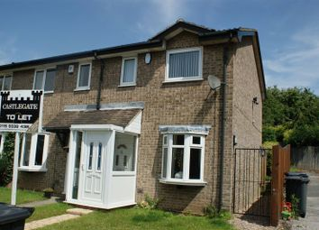 Thumbnail 2 bed terraced house to rent in Quantock Close, Arnold, Nottingham