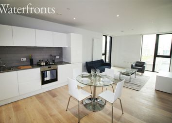Thumbnail 1 bed flat to rent in Cutter House Royal Wharf