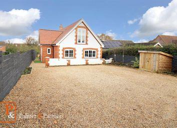 Thumbnail 3 bed detached house for sale in Back Road, Middleton, Saxmundham, Suffolk