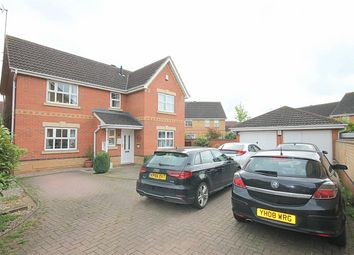 Thumbnail 4 bed detached house for sale in Millstone Close, Hunsbury Meadows, Northampton