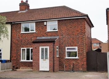 Thumbnail 2 bedroom end terrace house for sale in Suffolk Avenue, Derby