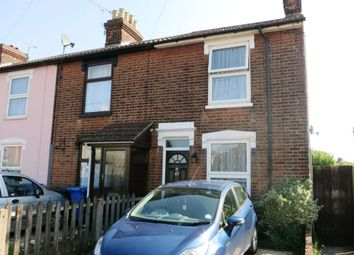 Thumbnail 2 bedroom end terrace house to rent in Tomline Road, Ipswich
