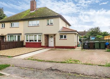 Thumbnail 3 bed semi-detached house for sale in East Crescent, Weldon, Corby