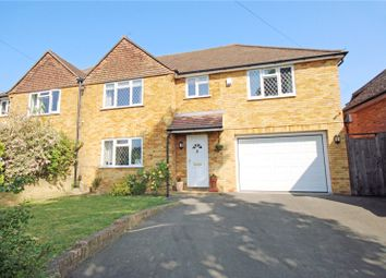 Thumbnail 4 bed semi-detached house for sale in Liberty Rise, Addlestone, Surrey