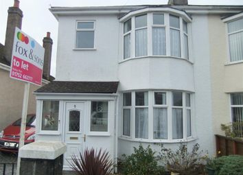 Thumbnail 3 bedroom property to rent in Corondale Road, Beacon Park, Plymouth