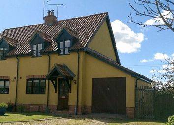 Thumbnail 3 bed semi-detached house for sale in The Street, Great Cressingham, Thetford