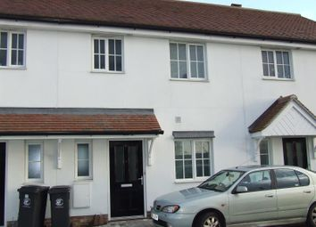 Thumbnail 2 bed terraced house to rent in Walter Mead Close, Ongar, Essex