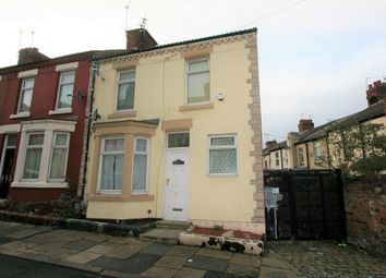 Thumbnail 3 bed end terrace house for sale in Whalley Road, Birkenhead