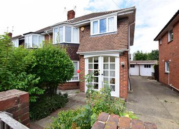 Thumbnail 3 bed semi-detached house for sale in Parkstone Avenue, Southsea, Hampshire