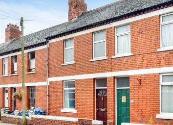 Thumbnail 2 bedroom terraced house for sale in Spencer Street, Roath, Cardiff