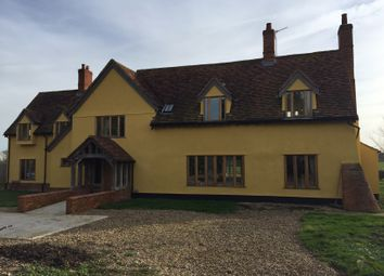 Thumbnail 6 bed detached house for sale in Raydon Road, Hintlesham, Ipswich