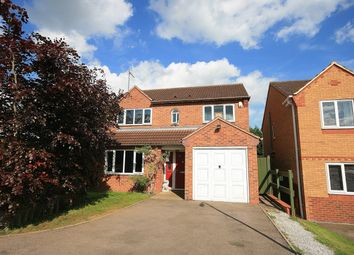 Thumbnail 4 bed detached house for sale in Wickery Dene, Wootton, Northampton