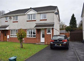 Thumbnail 3 bed semi-detached house for sale in Clos Rhedyn, Cwmrhydyceirw, Swansea