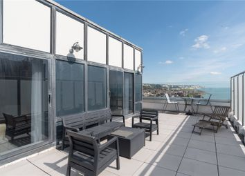 Thumbnail 3 bed flat for sale in The Leas, Folkestone, Kent