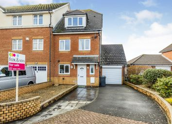 Thumbnail 3 bed town house for sale in Megson Drive, Lee-On-The-Solent