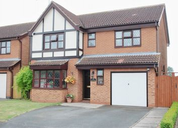 Thumbnail 4 bed detached house for sale in Drayton Close, Bidford-On-Avon, Alcester