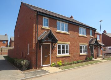 Thumbnail 3 bed semi-detached house to rent in Poplar Road, Streethay, Lichfield