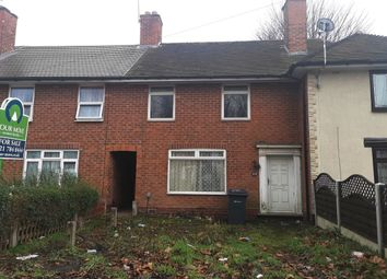 Thumbnail 3 bed terraced house for sale in Wyndhurst Road, Stechford, Birmingham