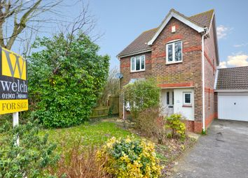 Thumbnail 3 bedroom detached house for sale in Squadron Drive, Durrington, West Sussex