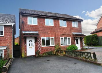Thumbnail Semi-detached house to rent in Linton Drive, Andover, Hampshire