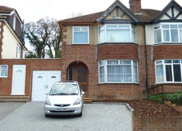 Thumbnail 3 bed semi-detached house to rent in Hemdean Road, Caversham, Reading