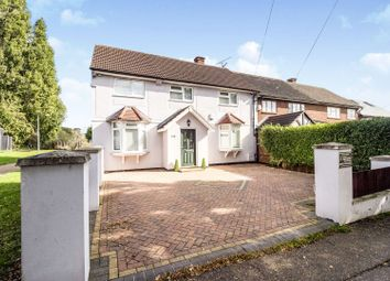 Thumbnail 4 bed semi-detached house for sale in Colson Road, Loughton