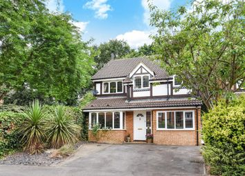 Thumbnail 4 bed detached house for sale in Groves Lea, Mortimer