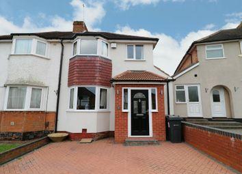 Thumbnail 3 bed semi-detached house for sale in Westfield Avenue, Birmingham