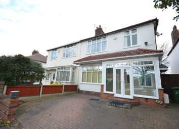 Thumbnail 3 bed semi-detached house for sale in Woolton Road, Childwall, Liverpool